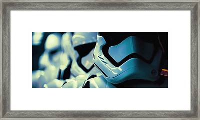 F O St - First Order Stormtroopers Framed Print