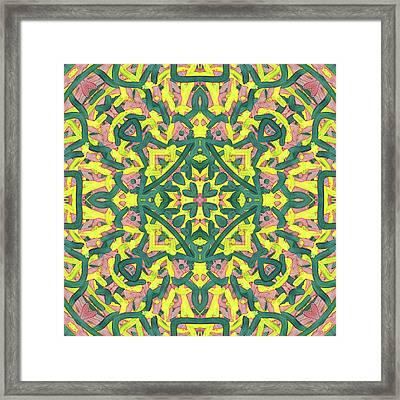 F R I - Pattern Framed Print