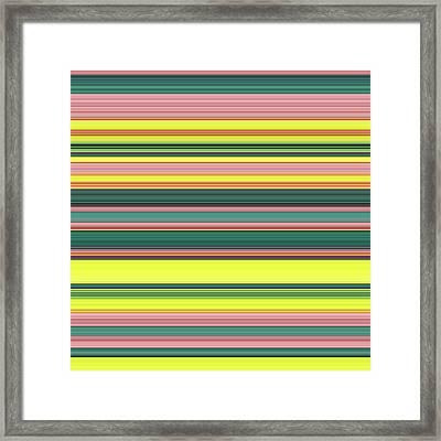 F R I - Tape Framed Print