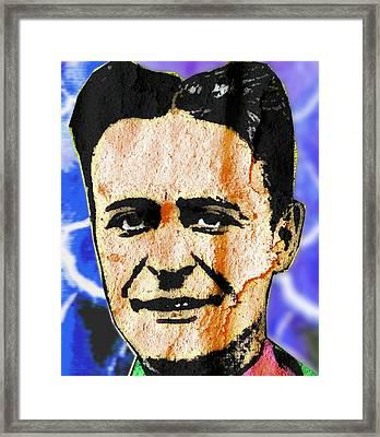 F Scott Fitzgerald Framed Print