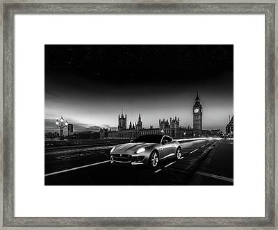F-type In London Framed Print