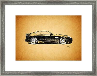 F-type Jaguar Framed Print