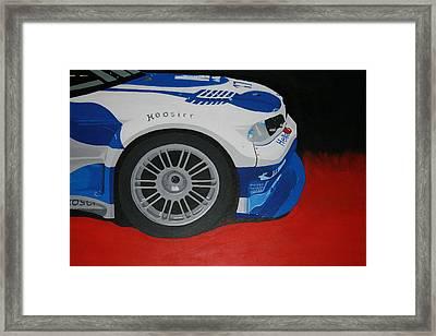 F1 Boston Bmw Framed Print by Ryan Flanagan