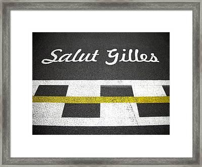 F1 Circuit Gilles Villeneuve - Montreal Framed Print by Juergen Weiss