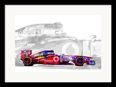 Marco Andretti Framed Prints