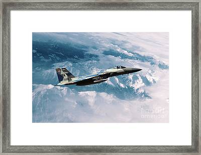 F15 Eagle Agressor Framed Print by J Biggadike