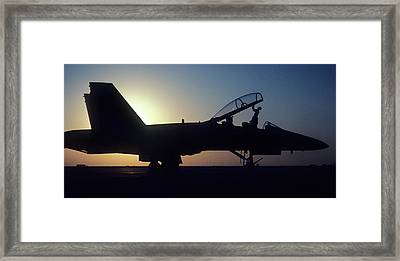 F18  Framed Print by Steve Williams