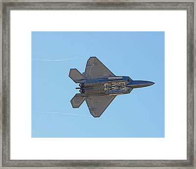 F22 Raptor Munitions Bays Open Framed Print by Dave Clark