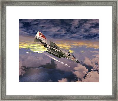 F4 Fox 0ne Framed Print