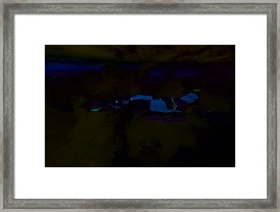 F4e Inbound Framed Print