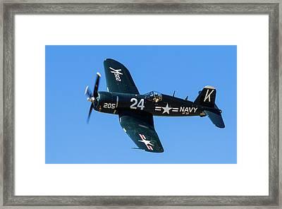 F4u Corsair 205 Framed Print