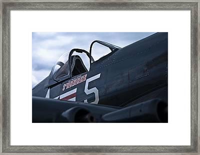 F4u Corsair Framed Print