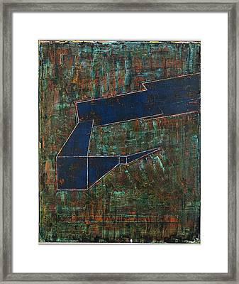Framed Print featuring the painting Dusk Oil On Board 16x20 by Radoslaw Zipper