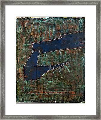 Dusk Oil On Board 16x20 Framed Print