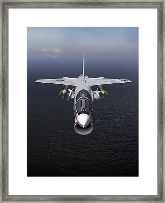 F8 18x24 Headon Framed Print