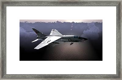 F8 At Kilo Framed Print
