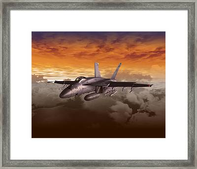 Fa 18 Number21 Framed Print