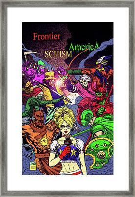 Fa Schism Framed Print