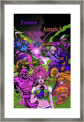 Fa Schism Zombie Framed Print
