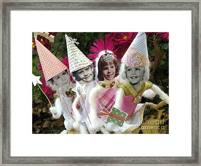 Fab Fairies Framed Print by Christine Belt