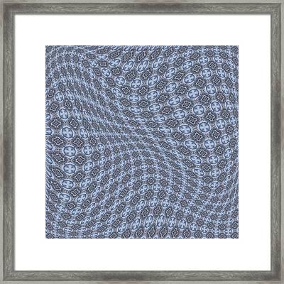Fabric Design 13 Framed Print by Karen Musick