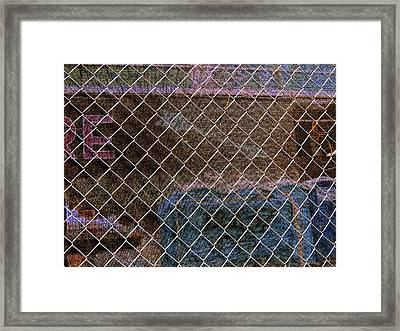 Fabric Of Chicago Framed Print by Todd Sherlock