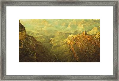 Fabric Of Time Framed Print
