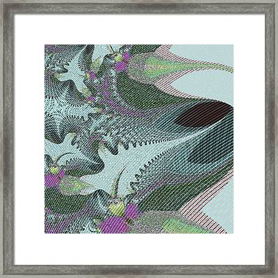 Fabric Sample Framed Print by Thomas Smith