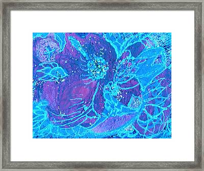 Fabstract Framed Print by Anne-Elizabeth Whiteway