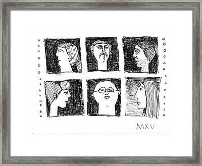 Fabulas No. 5 Framed Print