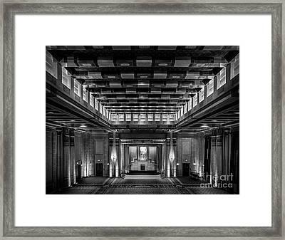 Fabulous Fox Theater Atlanta Egyptian Ballroom Framed Print