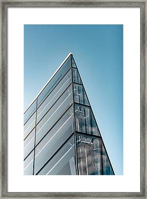 Facade Icon Framed Print by Todd Klassy