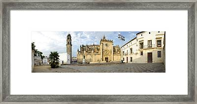 Facade Of The Jerez De La Frontera Framed Print