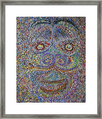Face 2 Framed Print by Dylan Chambers