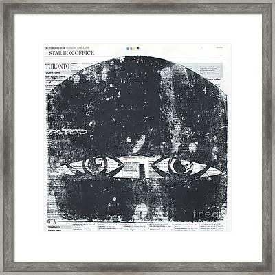 Face Covered Framed Print by Igor Kislev