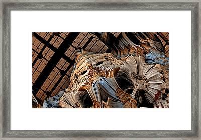 Face Framed Print