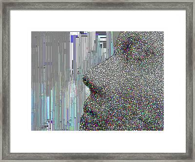 Face It Framed Print by Tim Allen