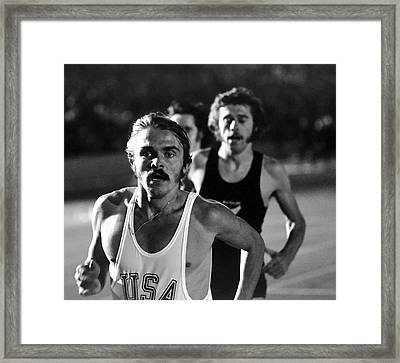 Face Of A Champion Framed Print by Daniel Hagerman