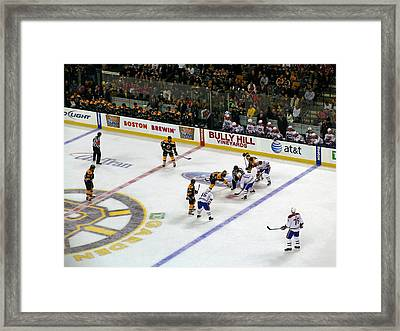 Face-off Framed Print by Juergen Roth