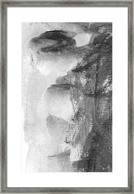 Face Framed Print by Skip Nall