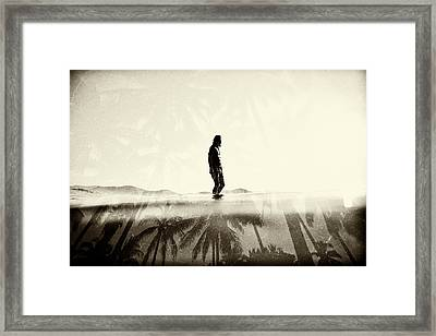 Face The Sun 2 Framed Print