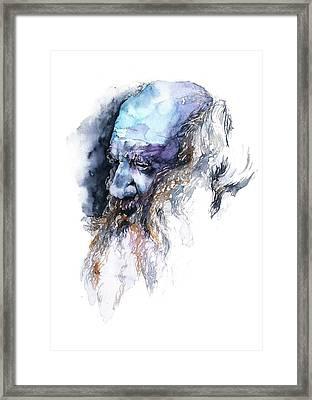 Face#11 Framed Print by Rafal Wnek