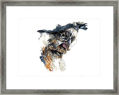 Face#4 Framed Print by Rafal Wnek