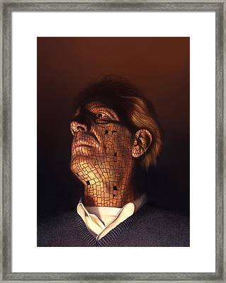 Faceplate Framed Print by Philip Straub