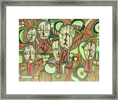 Faces #22 Framed Print