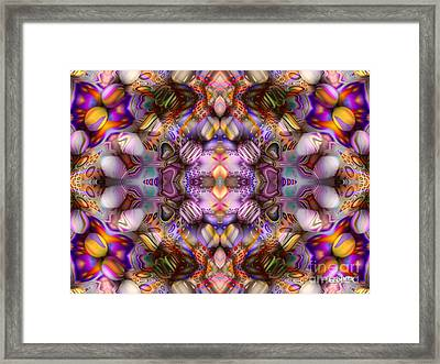 Faces Framed Print by Bobby Hammerstone