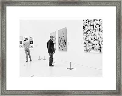 Faces Framed Print by Henk Van Maastricht
