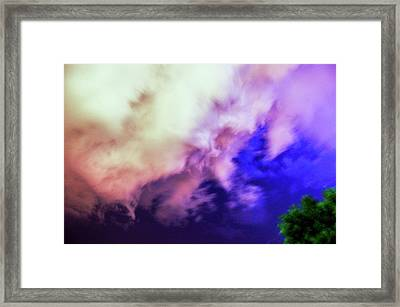 Faces In The Clouds 002 Framed Print