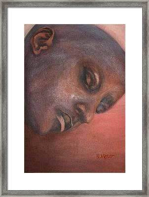 Faces Of Africa 1 Framed Print by Nellie Visser