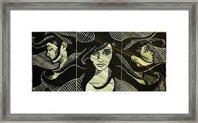 Faces Of Destiny Framed Print